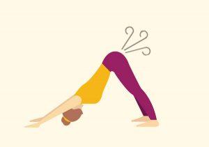 yoga fart