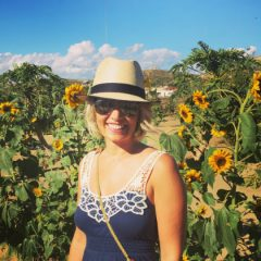 Kendra Cannoy in Mexico Sunflowers